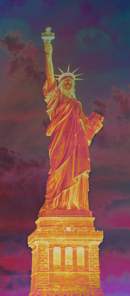 Statue Of Liberty National Monument Wall Art - Photograph - Lady Liberty No 8 by Stephen Stookey