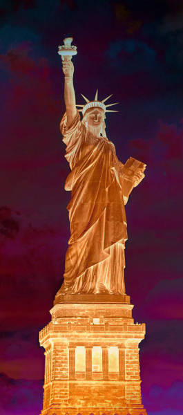 Statue Of Liberty National Monument Wall Art - Photograph - Lady Liberty No 9 by Stephen Stookey