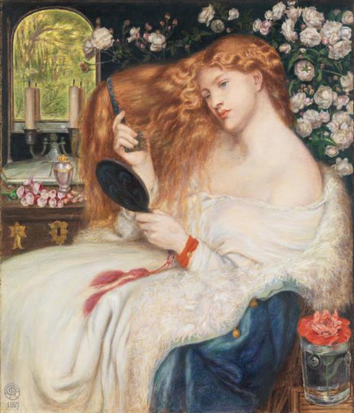 Gabriel Painting - Lady Lilith by Dante Gabriel Rossetti
