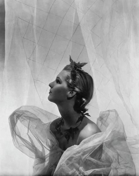 Photograph - Lady Mary Bridget Parsons by Cecil Beaton