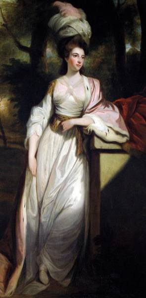 Nobility Painting - Lady Mary Isabella Somerset by Robert Smirke