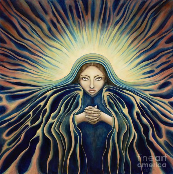 Lady Of Light Art Print