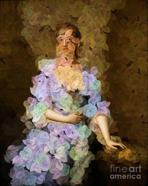 Et Digital Art - Lady Of Spring - Des Femmes Et Des Fleurs by Aimelle