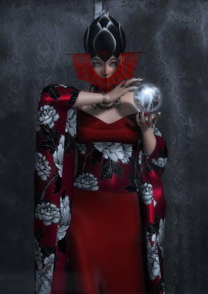 Caller Digital Art - Lady Of Storms II by Rachel Dudley