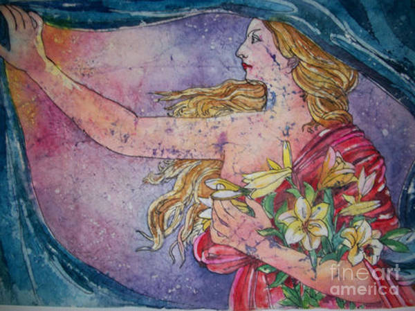 Painting - Lady Of The Morning by Carol Losinski Naylor