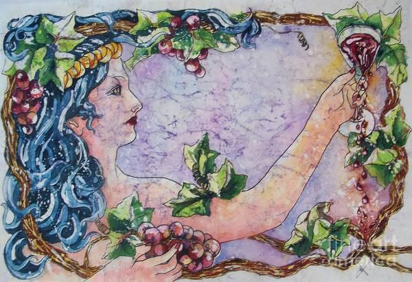 Painting - Lady Of The Vine by Carol Losinski Naylor