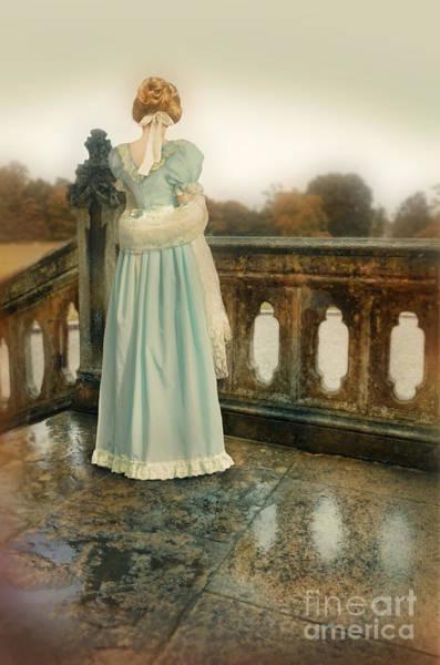 Wall Art - Photograph - Lady On A Veranda by Jill Battaglia