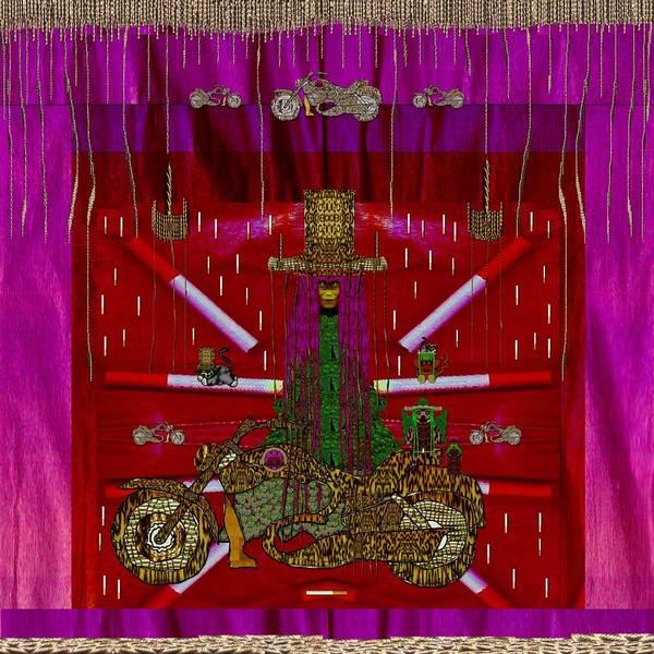 Sacred Heart Mixed Media - Lady Pandas Shopper Club by Pepita Selles
