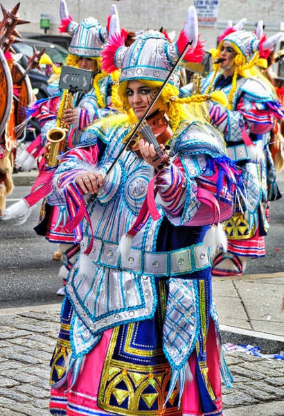 Photograph - Lady Viking Mummer by Alice Gipson