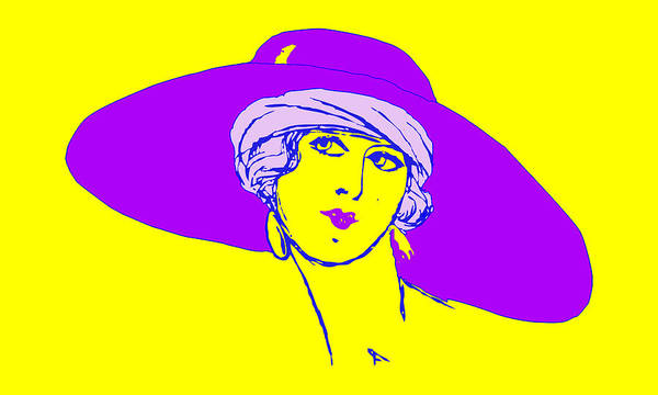 Photograph - Lady With Hat 1c by Mauro Celotti
