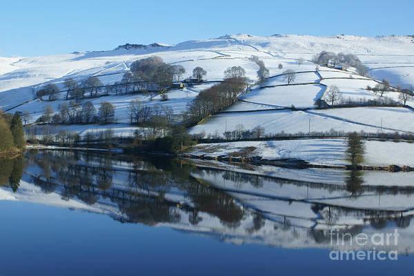 Photograph - Ladybower Reflections by David Birchall