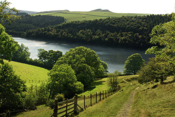 Peak District National Park Photograph - Ladybower Reservoir by Photography By Daniel Cook
