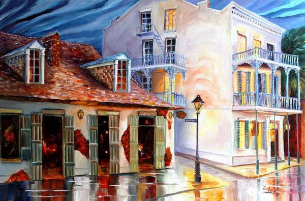 Bourbon Street Wall Art - Painting - Lafitte's Guest House On Bourbon by Diane Millsap