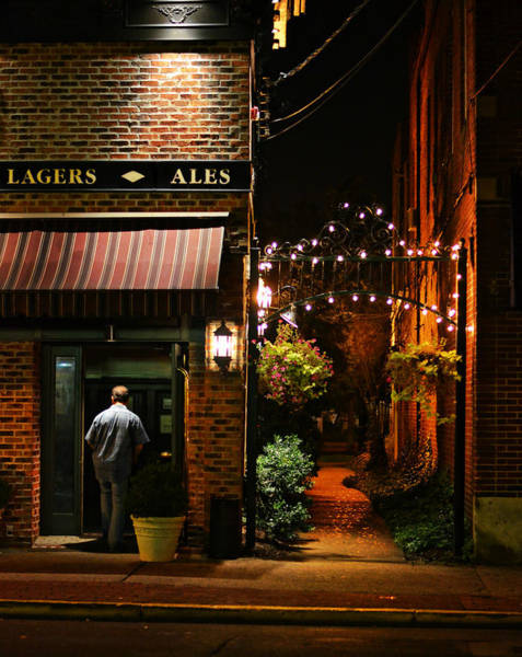 Red Brick Digital Art - Lagers And Ales by Laura Fasulo