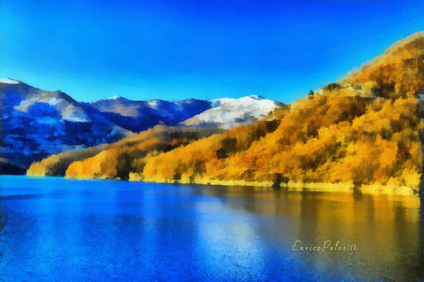 Levante Wall Art - Photograph - Lago Del Brugneto - Brugneto Lake by Enrico Pelos