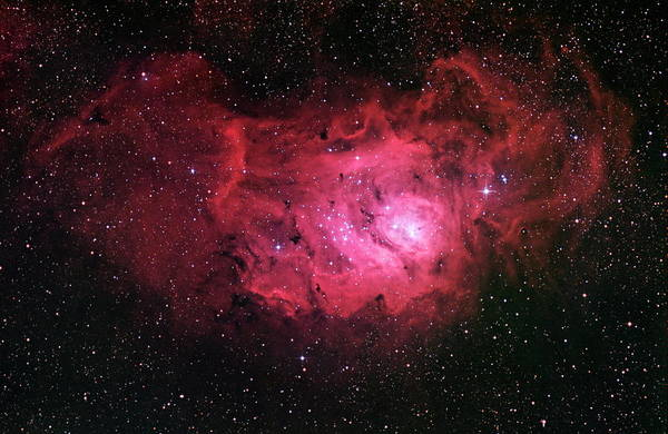 Wall Art - Photograph - Lagoon Nebula (m8) by Robert Gendler/science Photo Library
