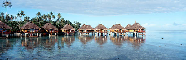 French Polynesia Photograph - Lagoon Resort, Island, Water, Beach by Panoramic Images