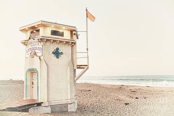 Photograph - Laguna Beach Lifeguard by Kate McKenna
