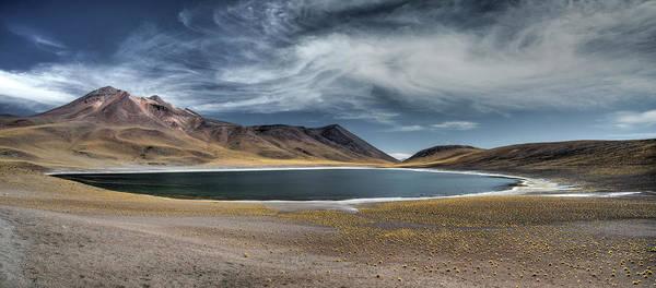 Laguna Mountains Photograph - Laguna Miscanti Et Miniques by Loulou Moreau