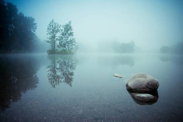 Zen Photograph - Laguna Morning by Robert Adamec