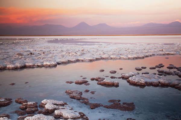 Salar De Atacama Photograph - Laguna Tebinquinche, Atacama Desert by Kristin Piljay