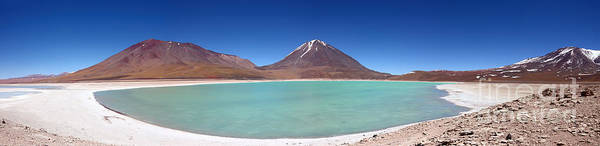 Photograph - Laguna Verde Panoramic by James Brunker
