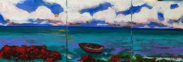 Painting - Lagunascape by Dilip Sheth