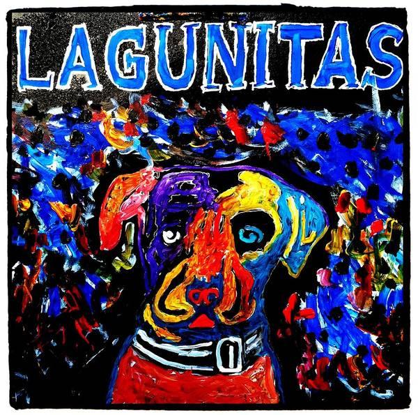 Painting - Lagunitas Dog by Neal Barbosa