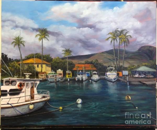Painting - Lahaina Harbor Wip 11 by Darice Machel McGuire