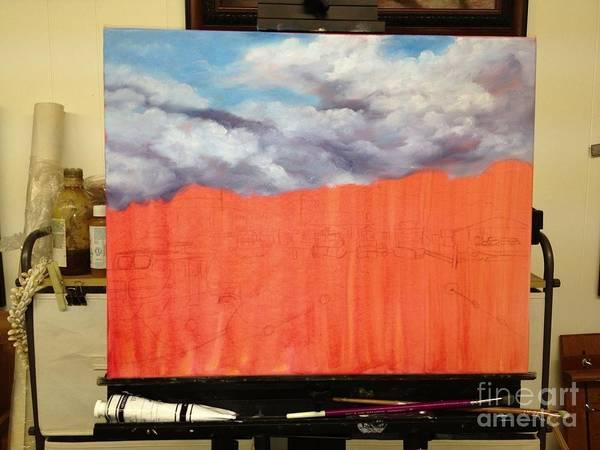 Painting - Lahaina Harbor Wip 2 by Darice Machel McGuire