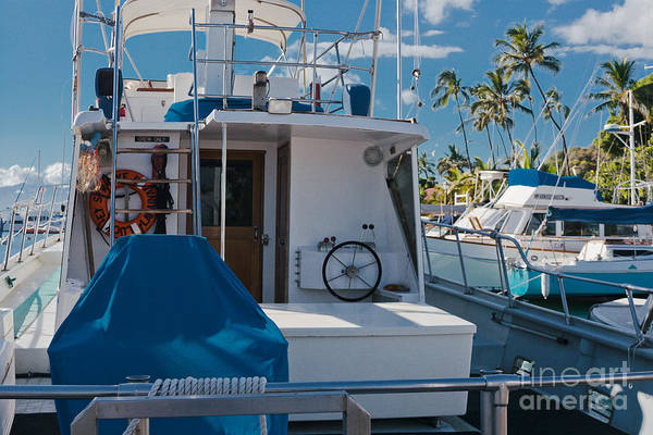 Photograph - Lahaina Marina Maui Hawaii by Sharon Mau