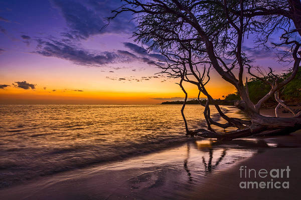 Maui Sunset Wall Art - Photograph - Lahaina Twilight by Jamie Pham