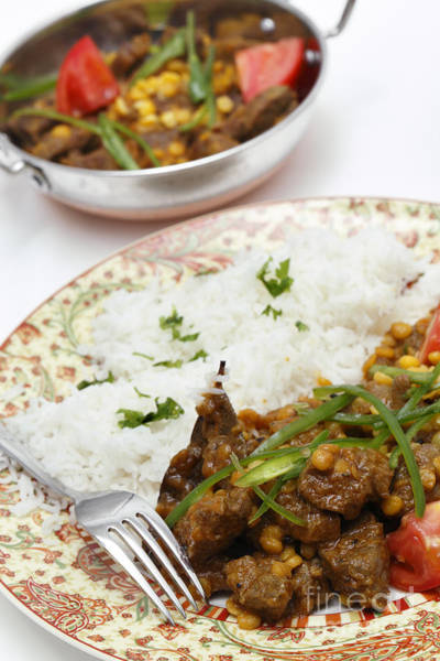 Photograph - Lahore Style Lamb Curry Vertical by Paul Cowan