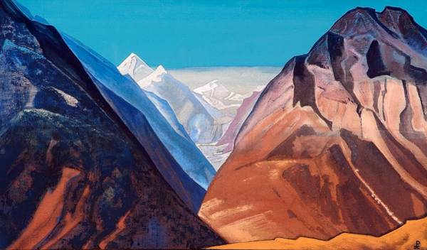 Nk Roerich Painting - Lahul by Nicholas Roerich