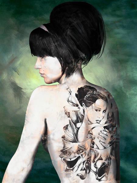 Digital Art - Laid Bare by Maynard Ellis
