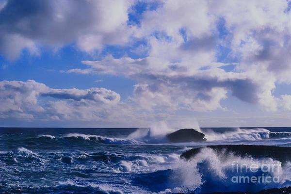 Photograph - Laie Point Seascape by Thomas R Fletcher
