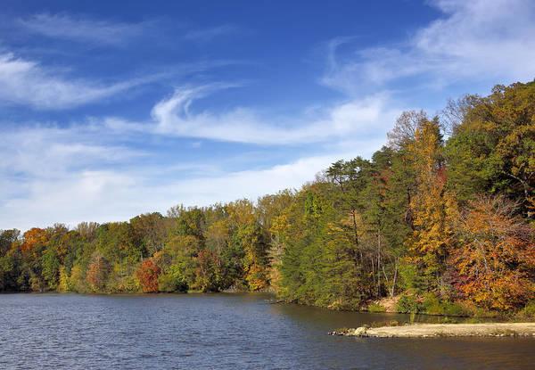 Wall Art - Photograph - Lake Accotink Park - Springfield Virginia by Brendan Reals