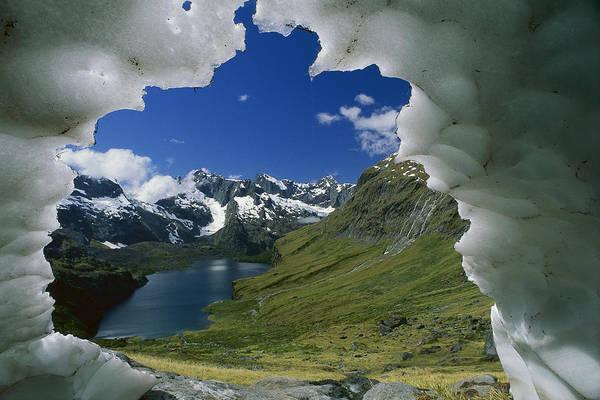 Dixon Photograph - Lake Adelaide Basin Fiordland Np by Grant  Dixon