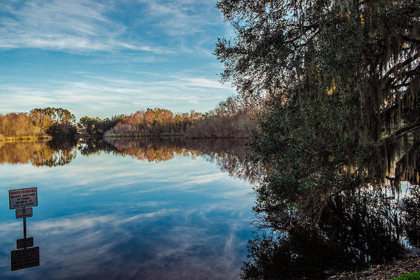 Gainesville Photograph - Lake Alice by Louis Ferreira