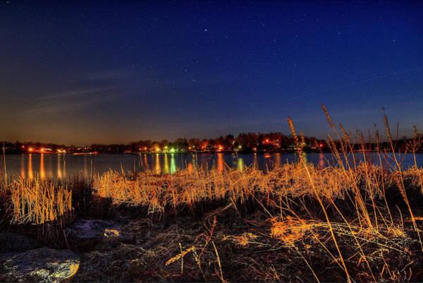 Photograph - Lake At Night by David Dufresne