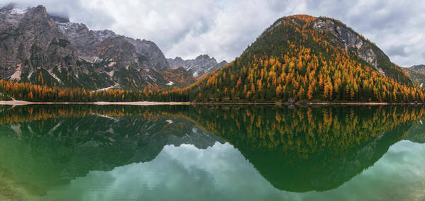 Wall Art - Photograph - Lake Braies by Ales Krivec