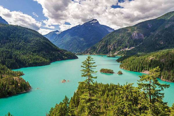 Photograph - Lake Diablo North Cascades National Park by Pierre Leclerc Photography