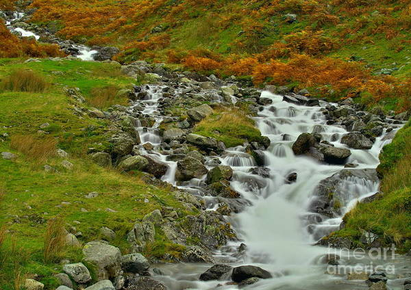 Photograph - Lake District Waterfall by Martyn Arnold