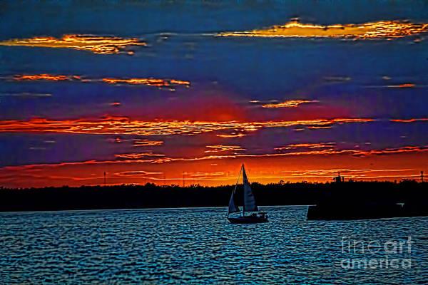 Photograph - Lake Erie Sunset by Jim Lepard