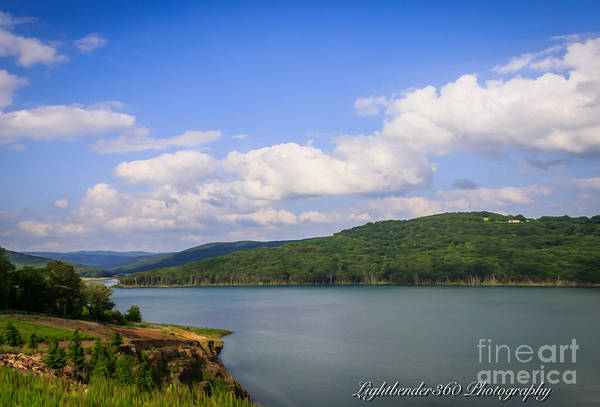 Photograph - Lake Fort Smith by Larry McMahon