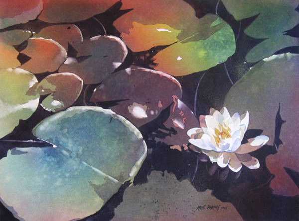 Species Wall Art - Painting - Lake Garden by Kris Parins