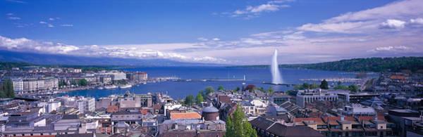 Lake Geneva Photograph - Lake Geneva, Geneva, Switzerland by Panoramic Images