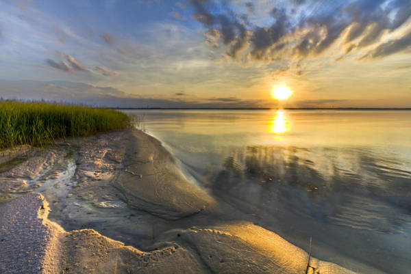 Fl Photograph - Lake Glow by Debra and Dave Vanderlaan