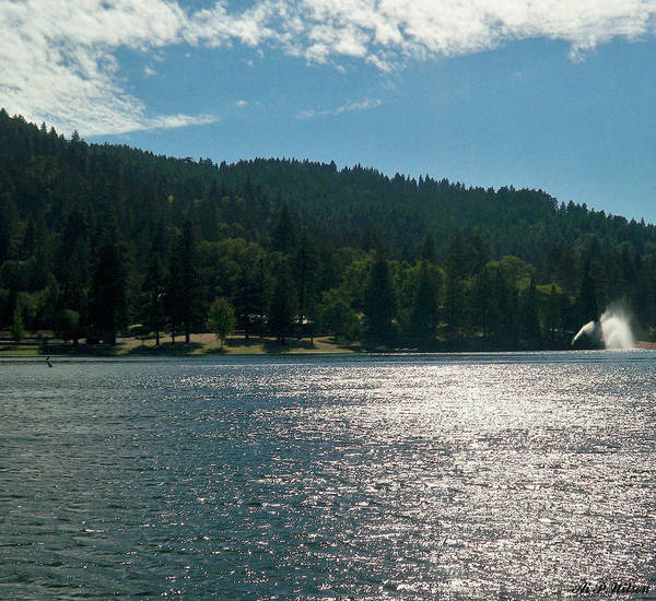 Photograph - Scenic Lake Photography In Crestline California At Lake Gregory by Ai P Nilson