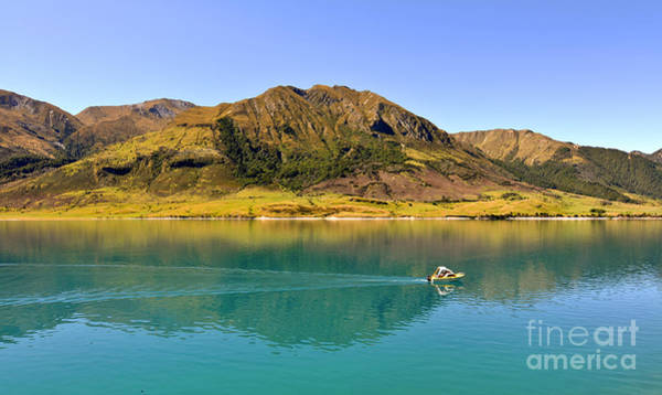 Wall Art - Photograph - Lake Hawea by Delphimages Photo Creations